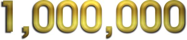 gold 1,000,000