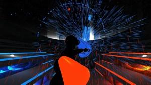 Audioshield gameplay