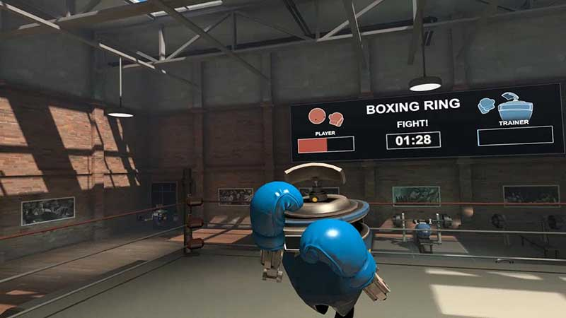 VR Boxing Ring In Steam Dashboard Upgrade