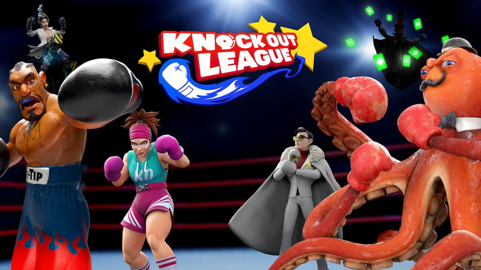 Knockout League VR Game Review - Fun Arcade Style Boxing
