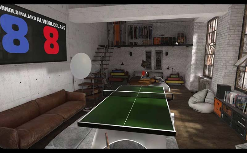 Eleven Table Tennis VR Game Review - Virtual Ping Pong