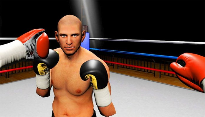 boxing VR fitness game