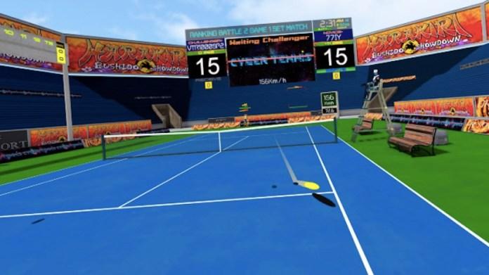 cyber tennis