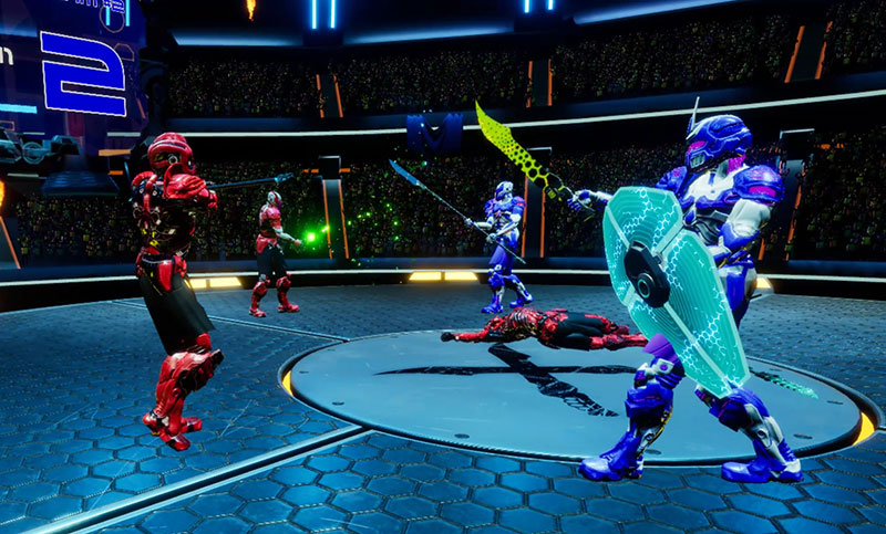 Swords of Gurrah VR Game Review: Sword Fighting with Friends