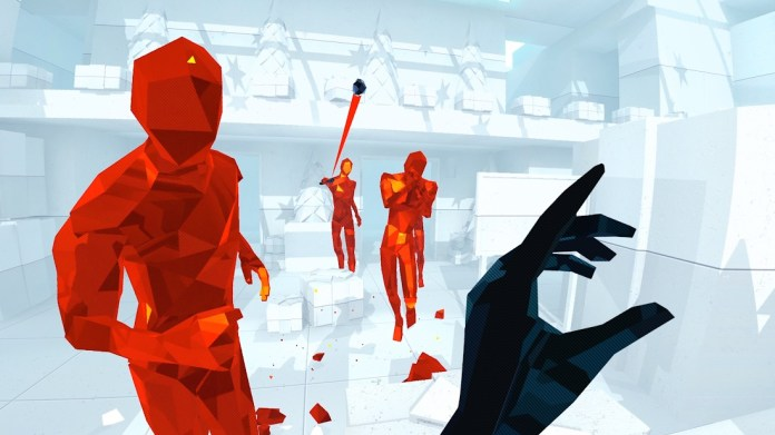 Superhot VR boxing day update
