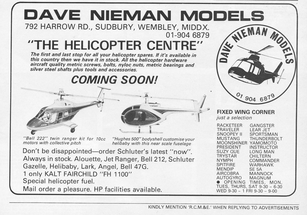 Vintage Rc Helicopters