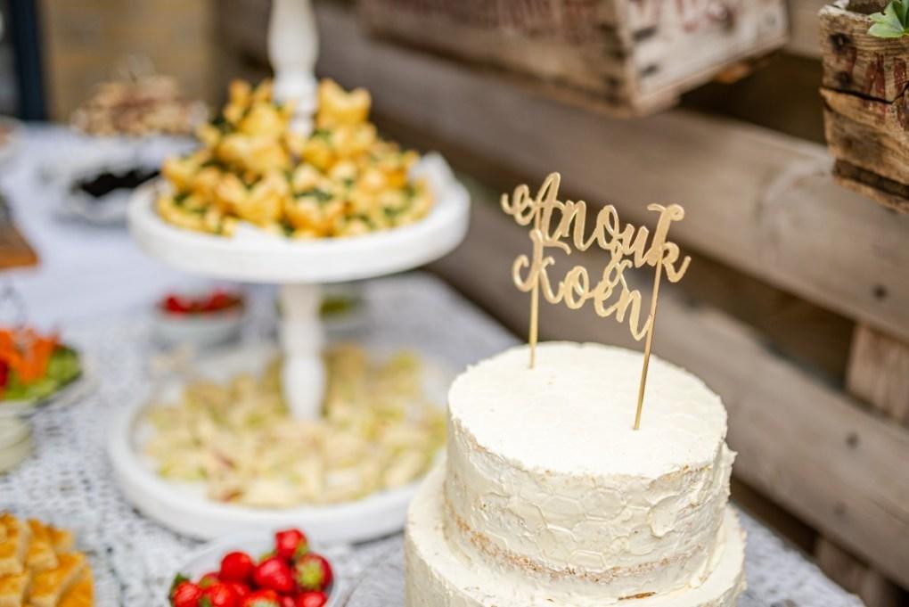 Bruidstaart maken recept
