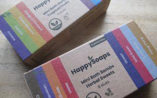 HappySoaps Mini Bathbombs Review