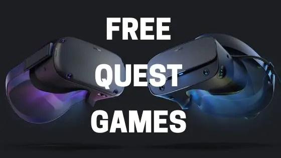 Free Oculus Quest Games