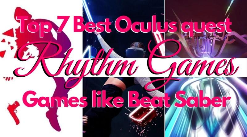 Best Oculus quest Rhythm Games   Games like Beat Saber