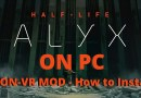 how to play half life alyx without vr