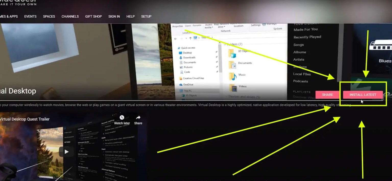 virtual desktop quest