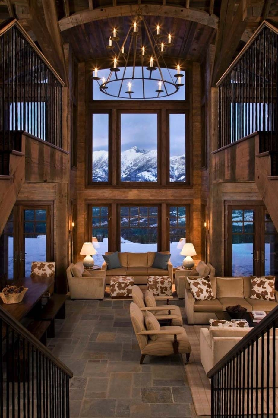 53 Best Rustic Mountain Home Plans Luxury Rustic Mountain Retreat In Big Sky Resembles An Old Lodge