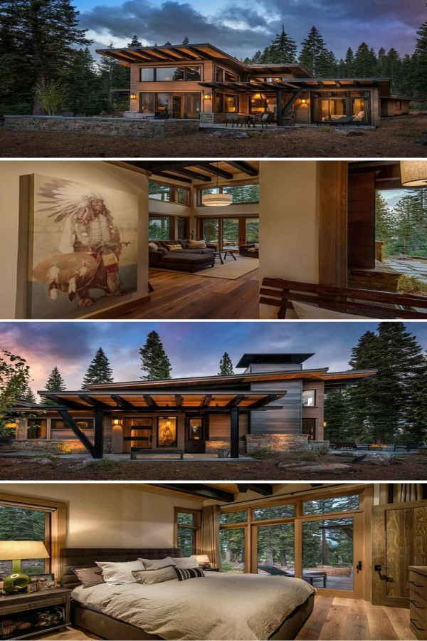 65 Mountain Cabin Plans Hillside Lovely Modern Mountain Retreat Architecture Houses In 2018