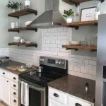 80 Floating Shelf Brackets Inspirational 49 Clever Small Kitchen Remodel Open Shelves Ideas