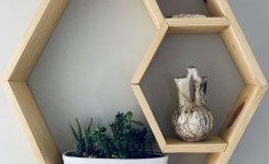 85 sample reclaimed wood floating shelves awesome hexagon minimalist wall shelf natural wood minimalism