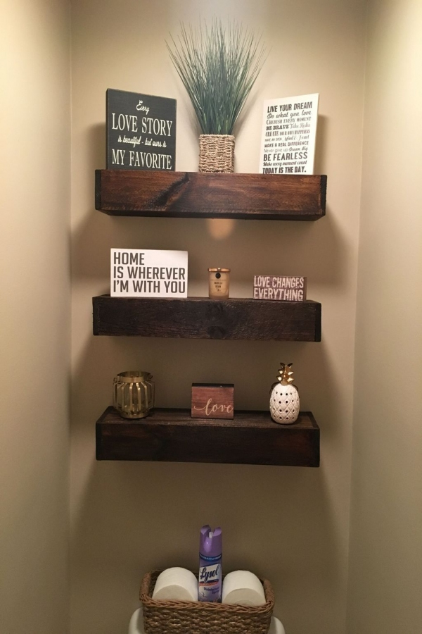 85 Sample Reclaimed Wood Floating Shelves Luxury 43 Diy Floating Shelves Decoration for Living Room