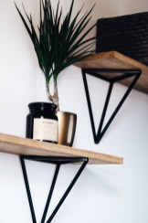 88 Wood Shelves with Metal Brackets Best Of Wall Shelf Wood Shelf Shelves Shelf Floating Shelves Bathroom