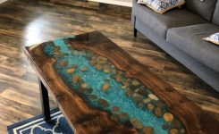 93 live edge coffee table best of resin live edge coffee table stunning river table stone coffee or