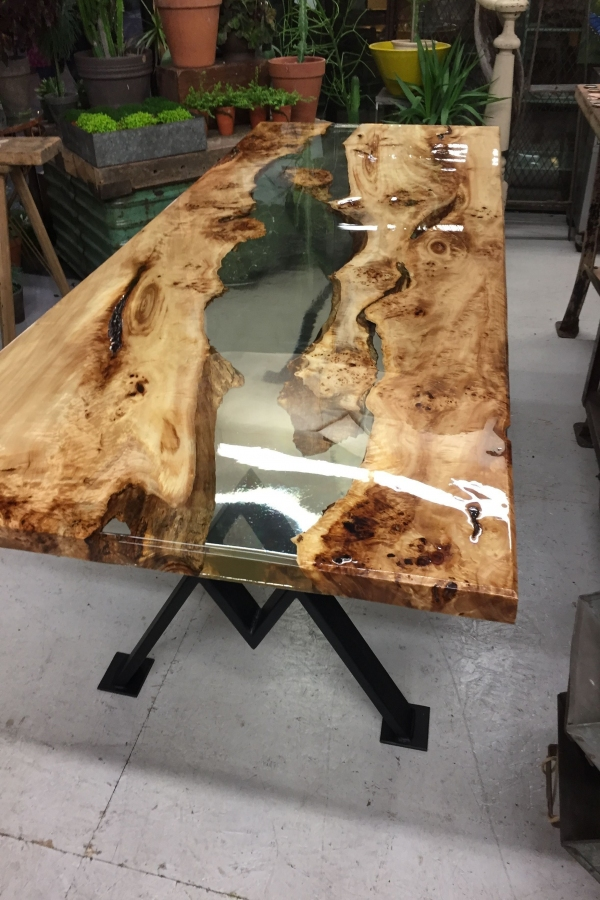 93 Live Edge Coffee Table Elegant Amazing Home Furniture Ideas with Incredible Resin Wood Table 09