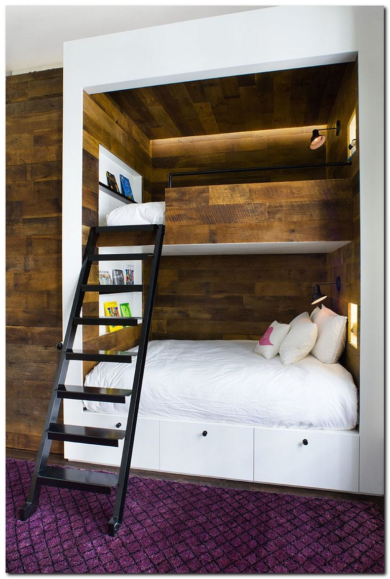 Bunk beds for kids the most fun they can have going to bed 1