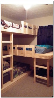 Bunk beds for kids the most fun they can have going to bed 25