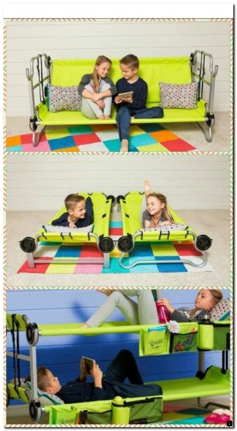 Bunk beds for kids the most fun they can have going to bed 9
