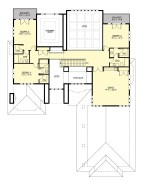 Contemporary Mountain Home Floor Plans New Upper Floor Image Of Greenleaf Retreat Plantas