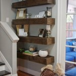 Reclaimed Wood Floating Shelves Lovely 70 Exciting Floating Shelves for Living Room Decorating