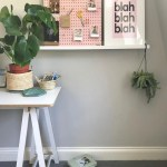 Reclaimed Wood Floating Shelves Unique Pink Pegboard On Floating Shelf Diy Ideas In 2019