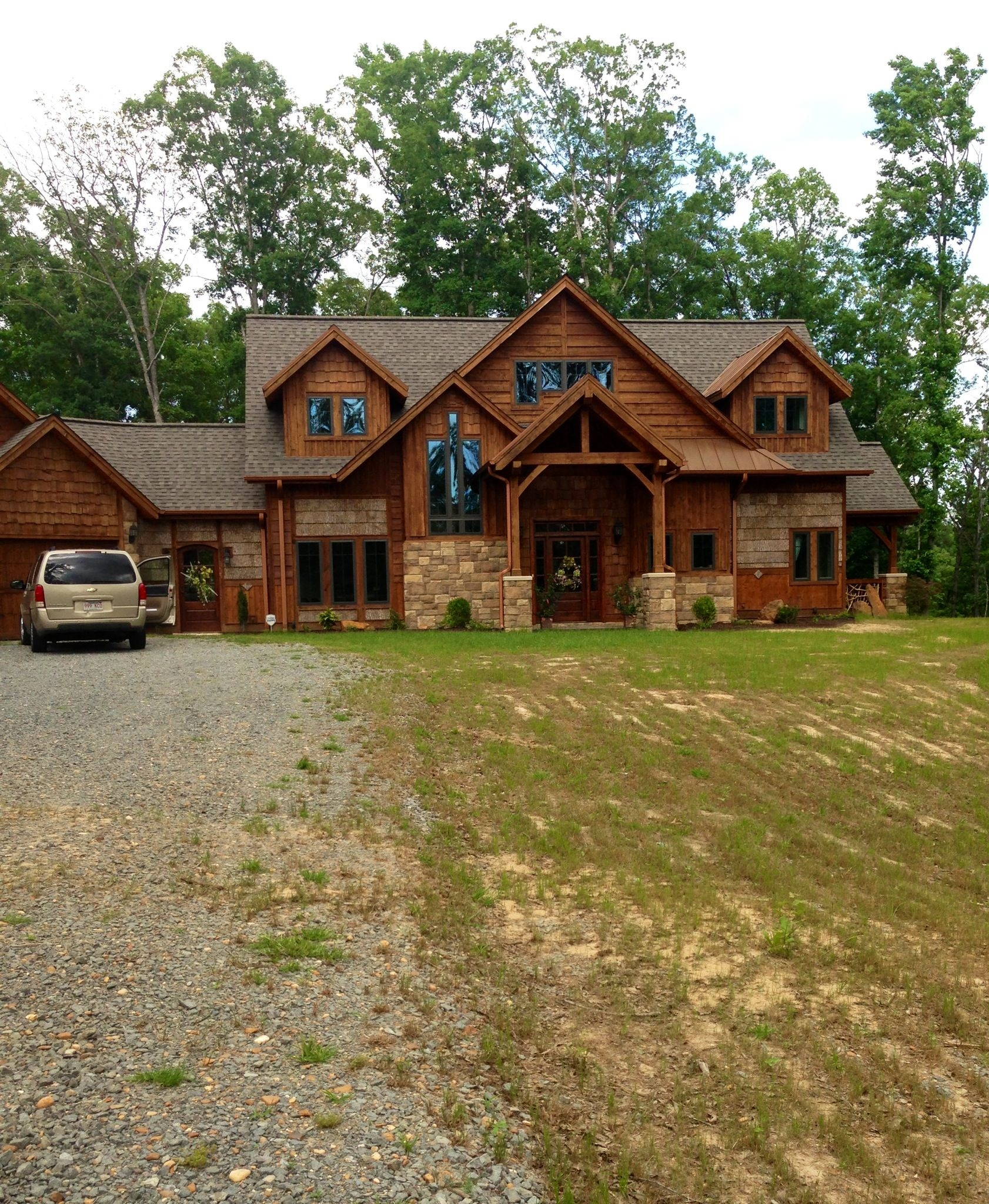Rustic Mountain House Plans with Walkout Basement Lovely Patch Work Log House Log Cabin Homes