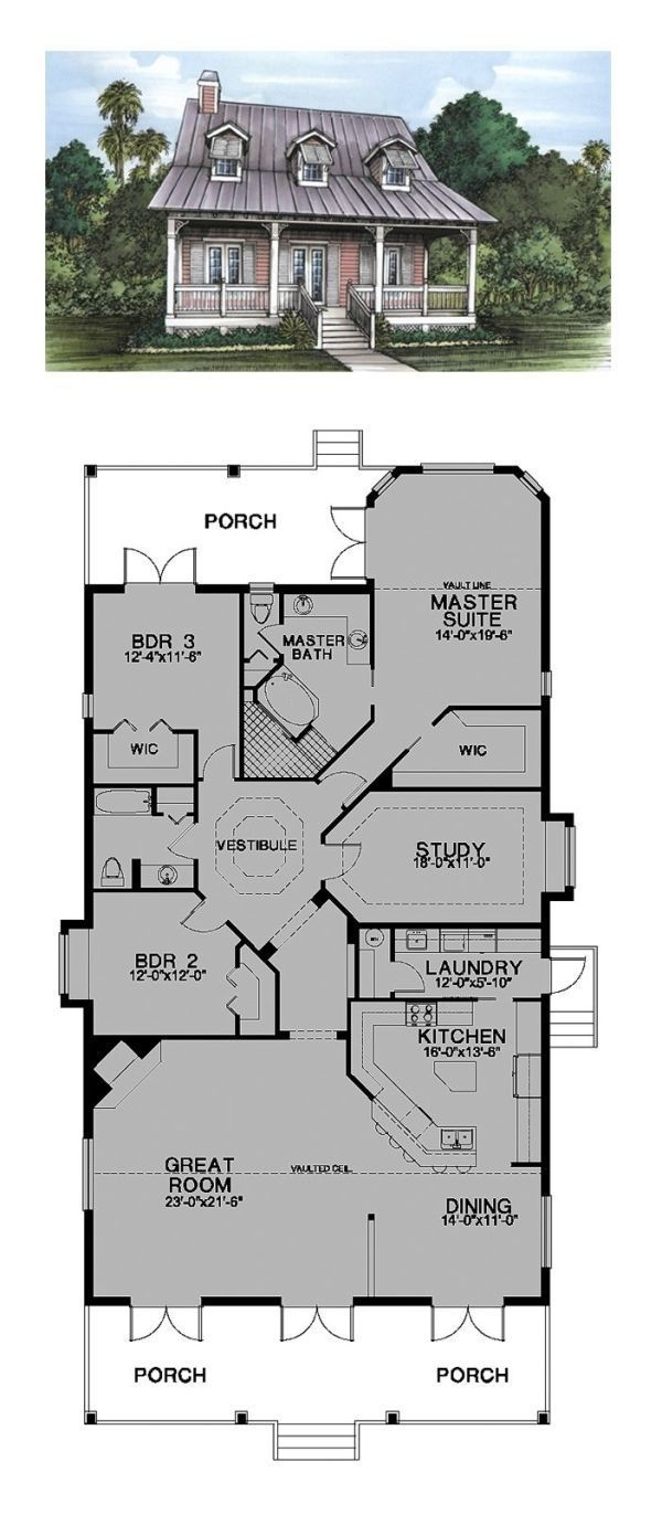Rustic Mountain House Plans with Walkout Basement New Florida Cracker Style Cool House Plan Id Chp