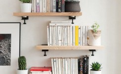 ✔️ 45 wall shelves design ideas how to decorate your home with wall shelves 13