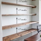 ✔️ 45 wall shelves design ideas how to decorate your home with wall shelves 17