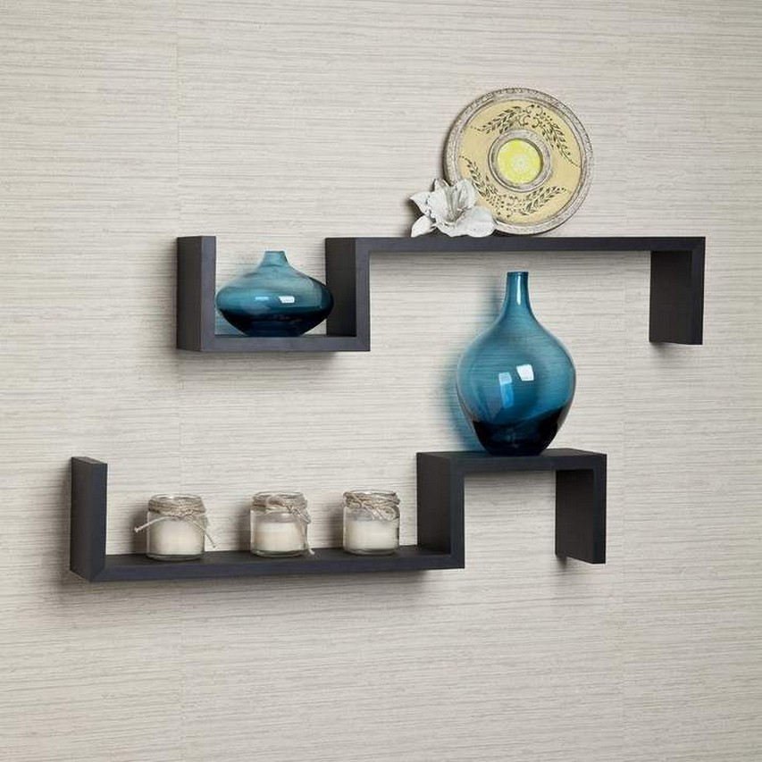 ✔️ 45 wall shelves design ideas how to decorate your home with wall shelves 32