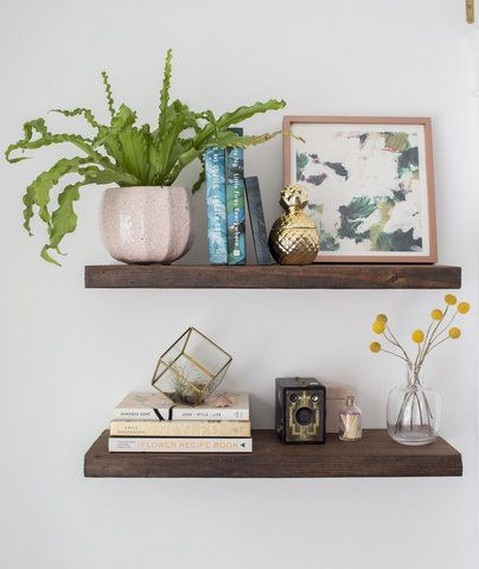 ✔️ 45 wall shelves design ideas how to decorate your home with wall shelves 41
