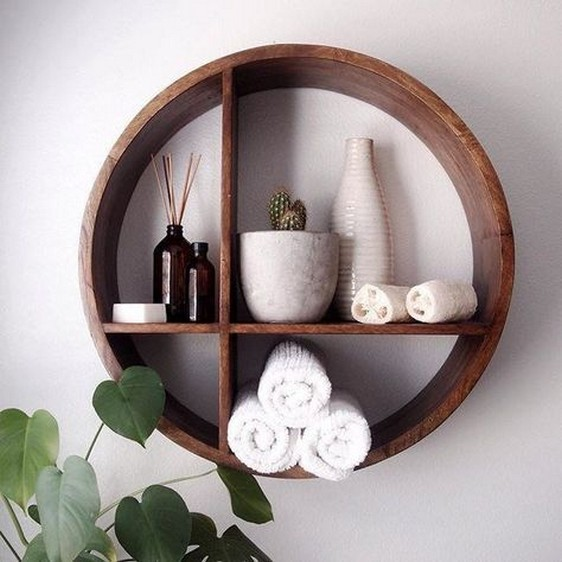 ✔️ 55 wall shelves design ideas show off your precious possessions with floating wall shelves 12