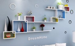 ✔️ 55 wall shelves design ideas show off your precious possessions with floating wall shelves 21