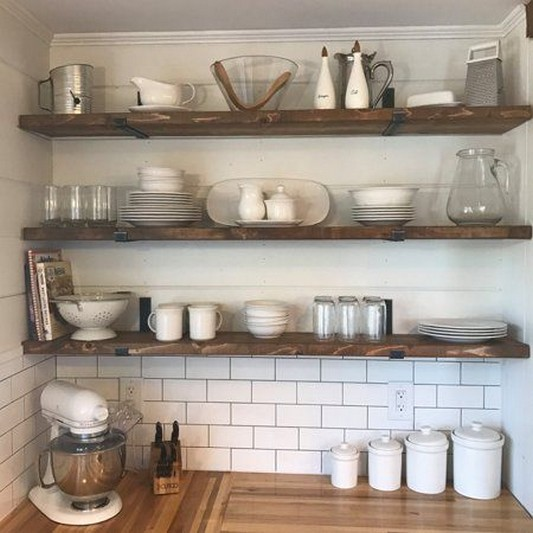 ✔️ 55 wall shelves design ideas show off your precious possessions with floating wall shelves 41