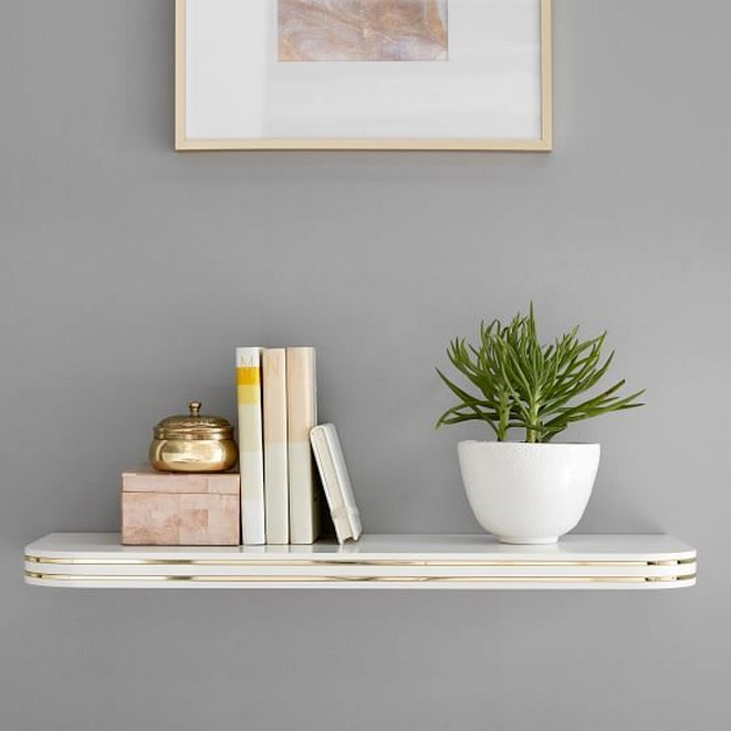 ✔️ 55 wall shelves design ideas show off your precious possessions with floating wall shelves 53