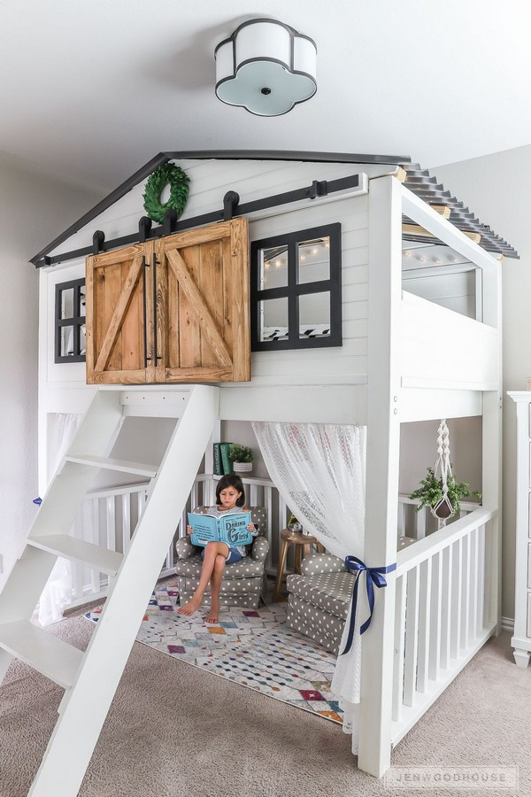 46 Kids Bunk Bed Decoration Ideas & Safety Tips 4