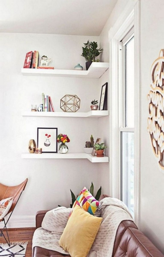 46 New Corner Shelves Ideas 039