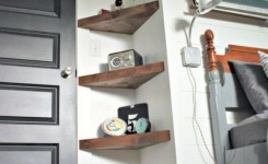 55 Luxury Corner Shelves Ideas 020