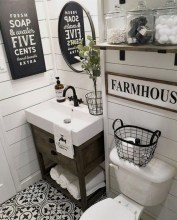 70 Kinds Of Farmhouse Bathroom Accessories Ideas- 5 Must Have Bathroom Accessories-5828
