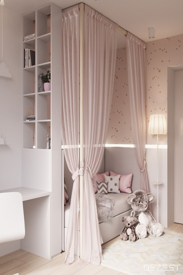 85 Awesome Bedroom Boy and Girl Decorating Ideas-3895