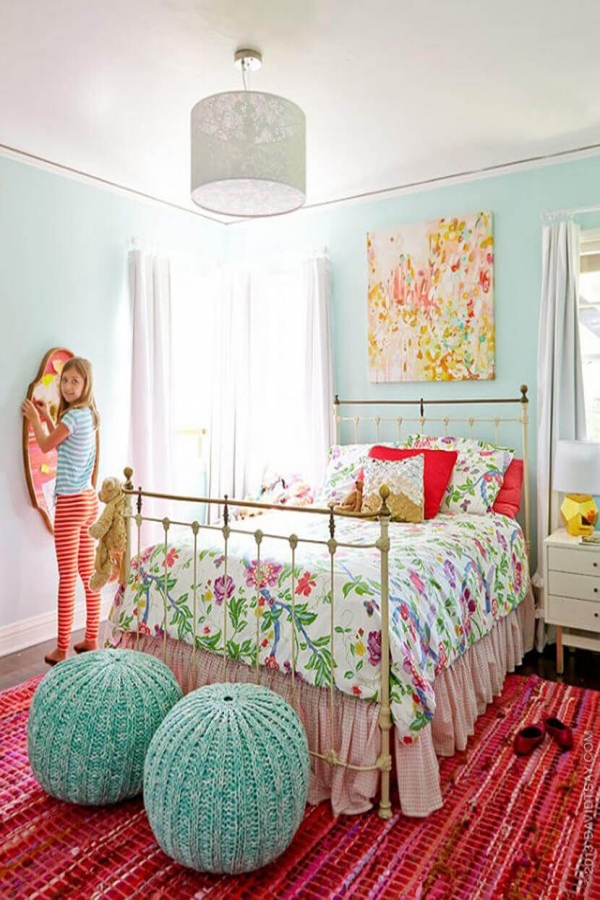85 Awesome Bedroom Boy and Girl Decorating Ideas-3903