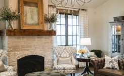 62 Rustic Living Room Curtains Design Ideas