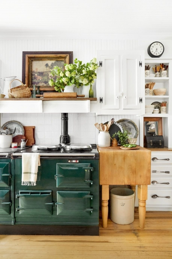 90 Rural Kitchen Ideas for Small Kitchens Look Luxurious 6183