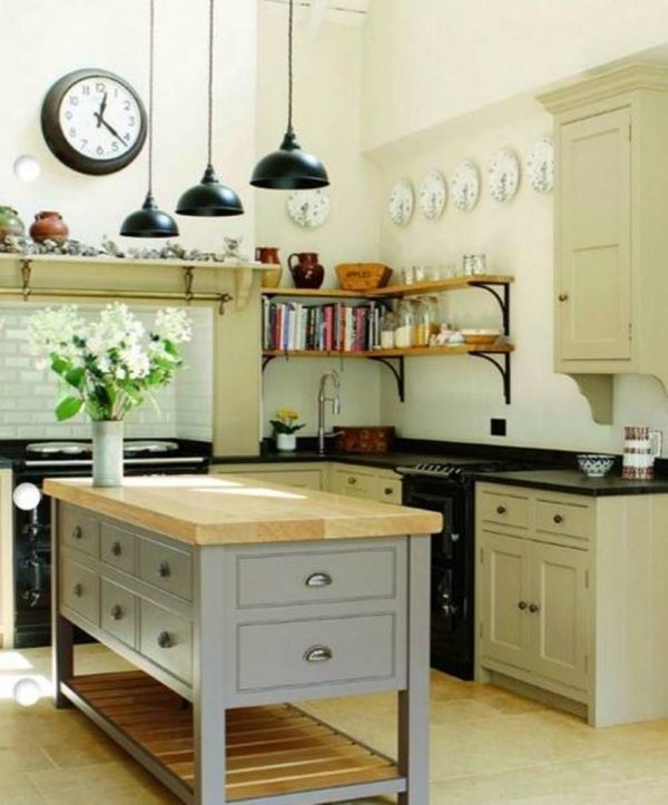 90 Rural Kitchen Ideas for Small Kitchens Look Luxurious 6189