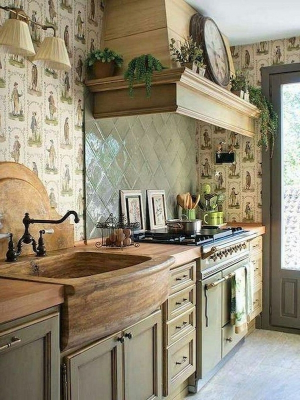 90 Rural Kitchen Ideas for Small Kitchens Look Luxurious 6190
